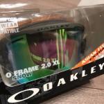 1万円で買えるゴーグル!オークリーのO FRAME 2.0 XL がすごい!